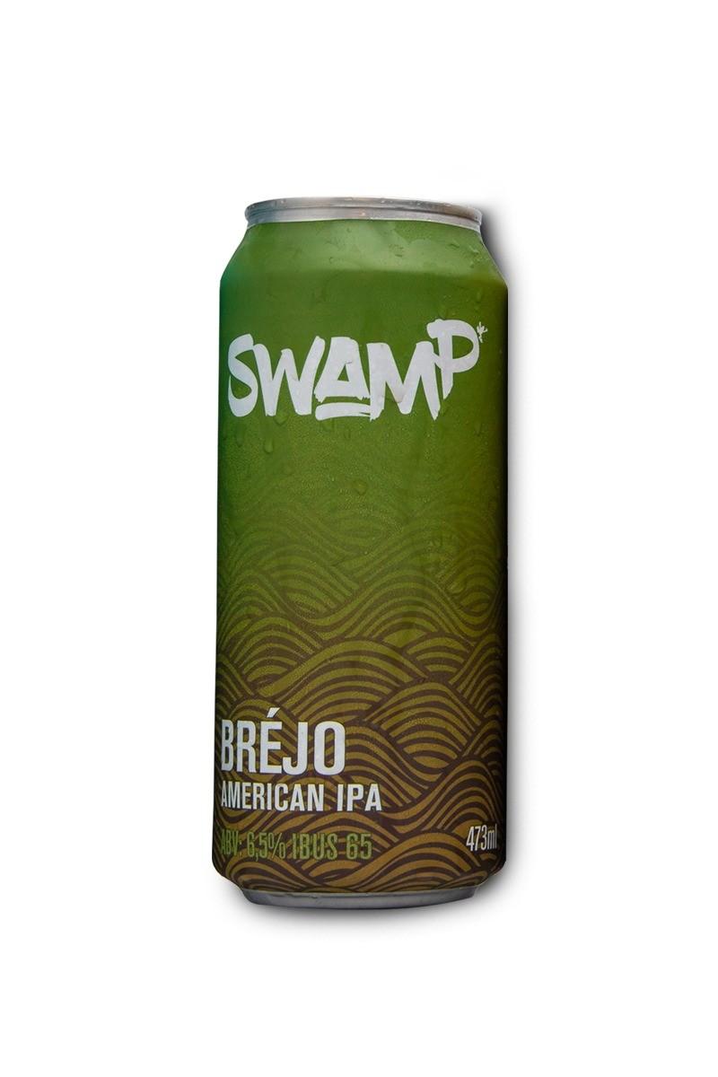 Swamp Bréjo American IPA Lata 473ml