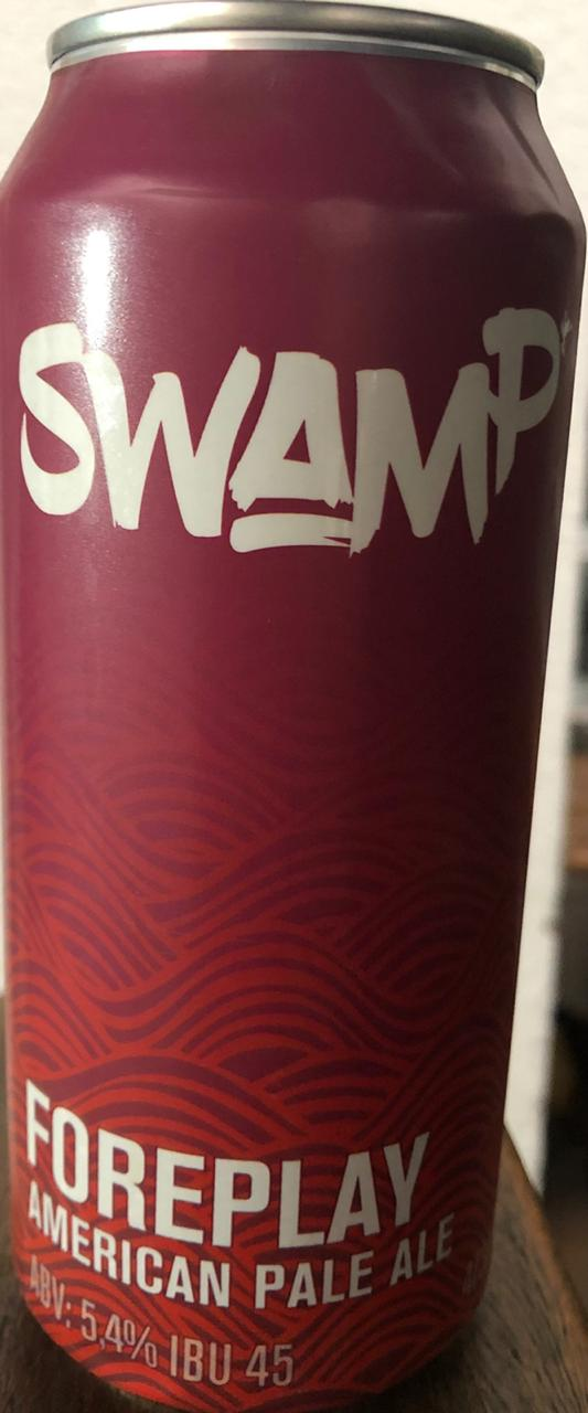 Swamp Foreplay American Pale Ale Lata 473ml