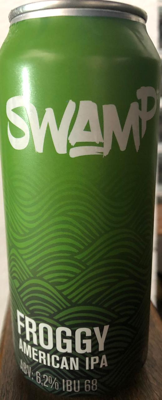 Swamp Froggy American IPA Lata 473ml
