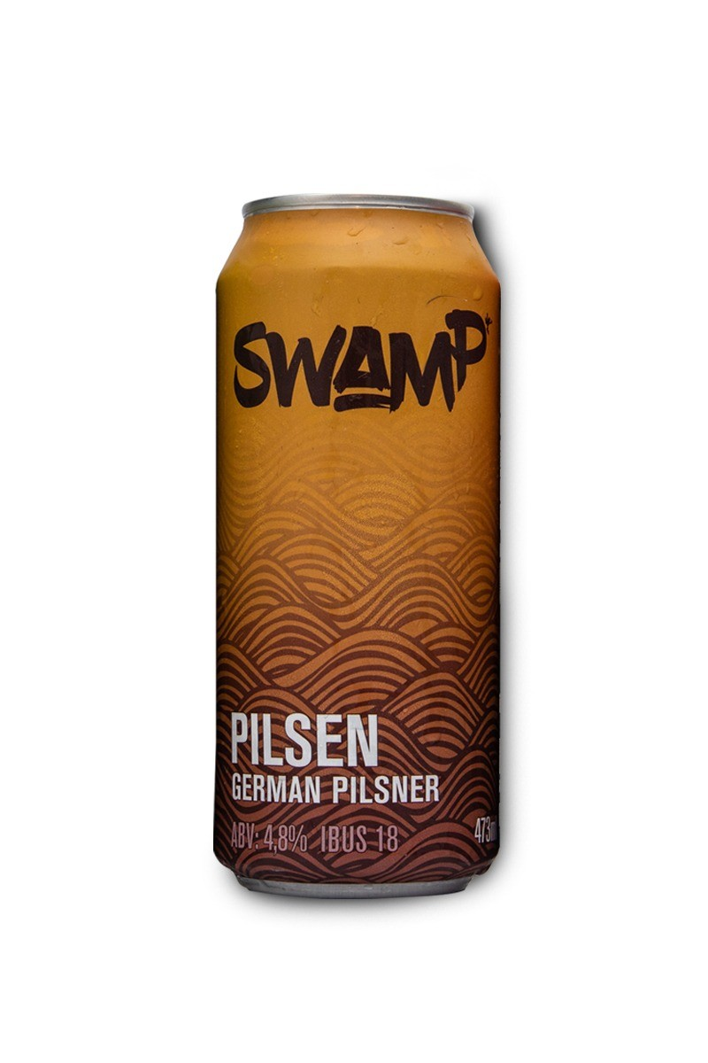 Swamp German Pilsner Lata 473ml