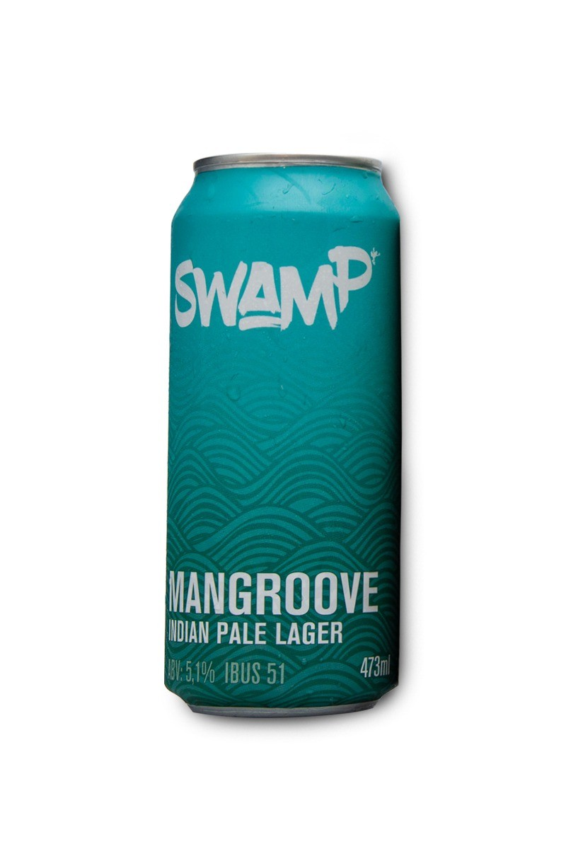 Swamp Mangroove Indian Pale Lager Lata 473ml