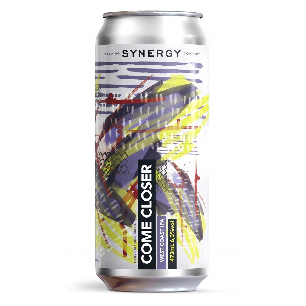 Synergy Come Closer West Coast IPA Lata 473ml