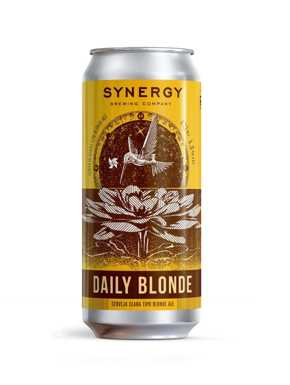 Synergy  Daily Blonde Lata 473ml Blonde Ale