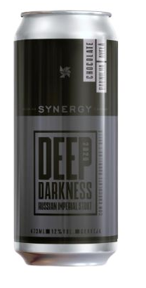 Synergy Deep Darkness  2020 Com Chocolate Baunilha e Avelã Lata 473ml RIS