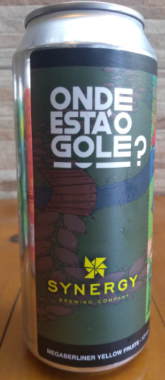 Synergy Onde está o Gole? Mega Berliner Yellow Fruits Lata 473ml