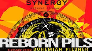 Synergy Reborn Pils  Bohemian Pilsner Lata 473ml