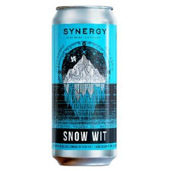 Synergy Snow Wit Lata 473ml