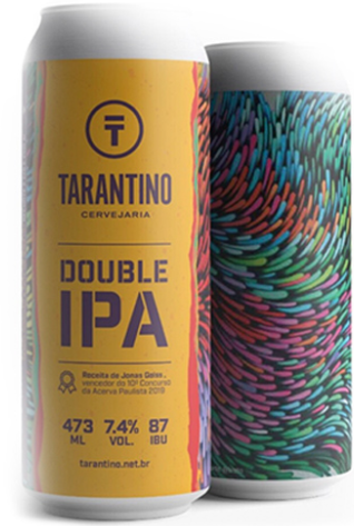 Tarantino Double IPA Lata 473ml