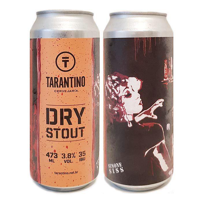 Tarantino Dry Stout Lata 473ml