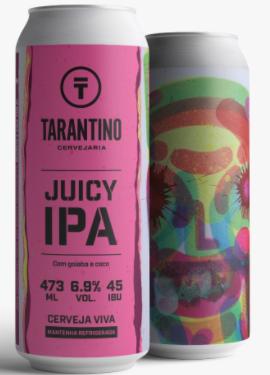 Tarantino Juicy IPA com goiaba e coco - Lata 473ml