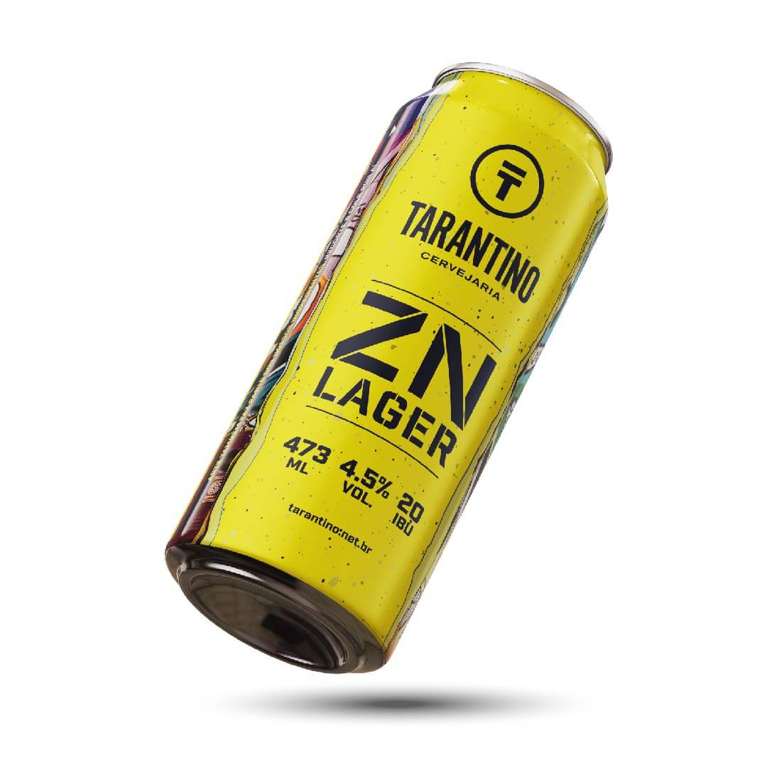 Tarantino ZN Lager Lata 473ml