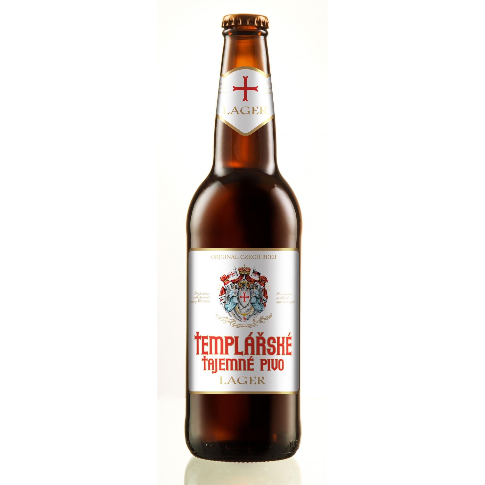 Templarske Tajemne Pivo Lager 500ml