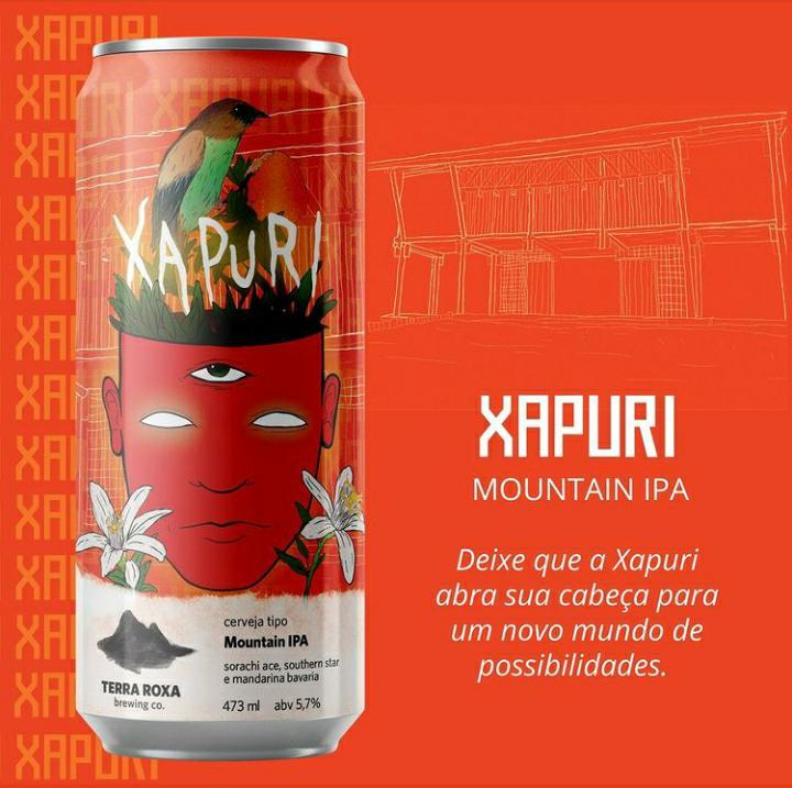 Terra Roxa Xapuri - Lata 473ml - Mountain Ipa