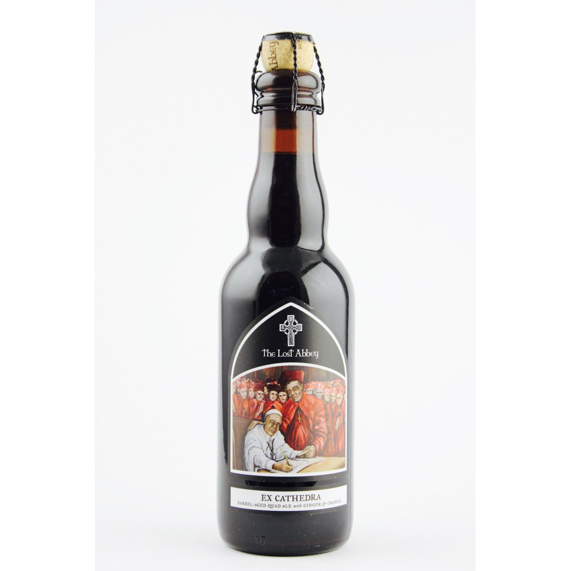 The Lost Abbey Ex Cathedra 375ml Quad BA