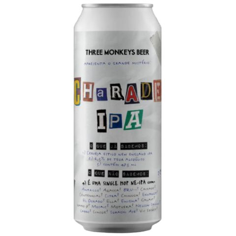 Three Monkeys Charade IPA Lata 473ml Single Hop NEIPA