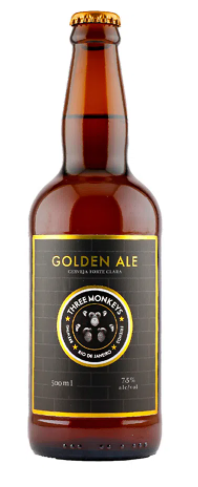 Three Monkeys Golden Ale 500ml