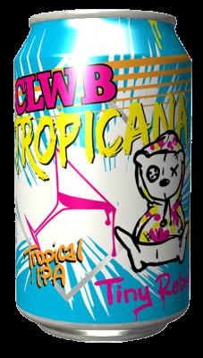 Tiny Rebel CLWB Tropicana Lata 330ml IPA
