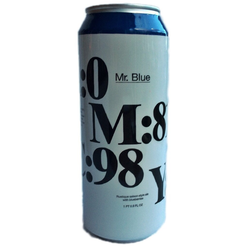 To Øl Mr. Blue Lata 500ml Saison c/ Mirtilo