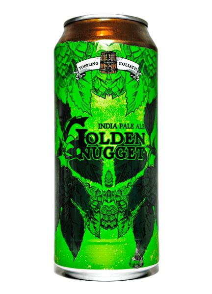 PRÉ VENDA - Toppling Goliath Golden Nugget Lata 473ml India Pale Ale