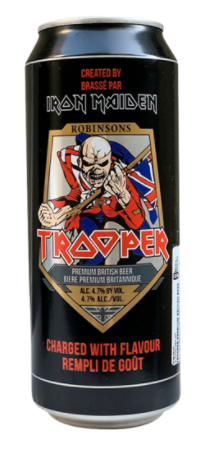 Trooper Iron Maiden Premium British Lata 500ml