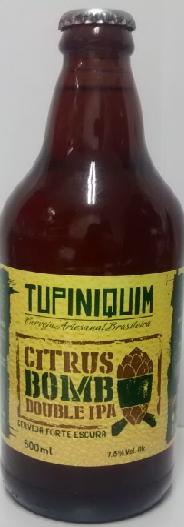 Tupiniquim Citrus Bomb 600ml Double IPA