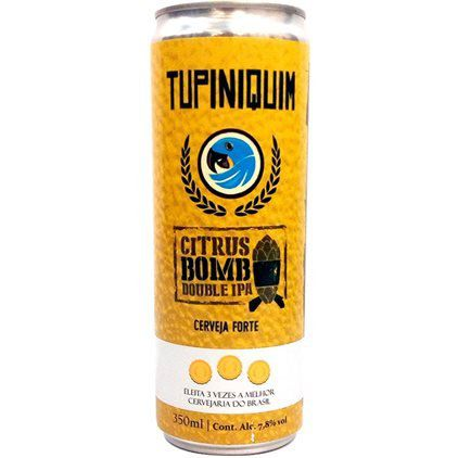 Tupiniquim Citrus  Bomb Double IPA Lata 350ml