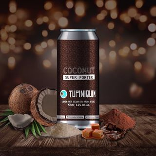 Tupiniquim Coconut Super Porter Lata 473ml