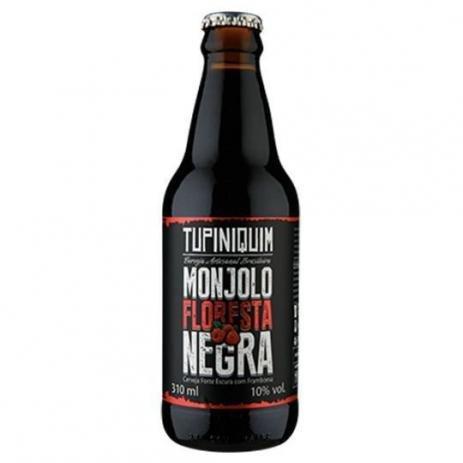 Tupiniquim Monjolo Floresta Negra 310ml Imperial Porter com Framboesa