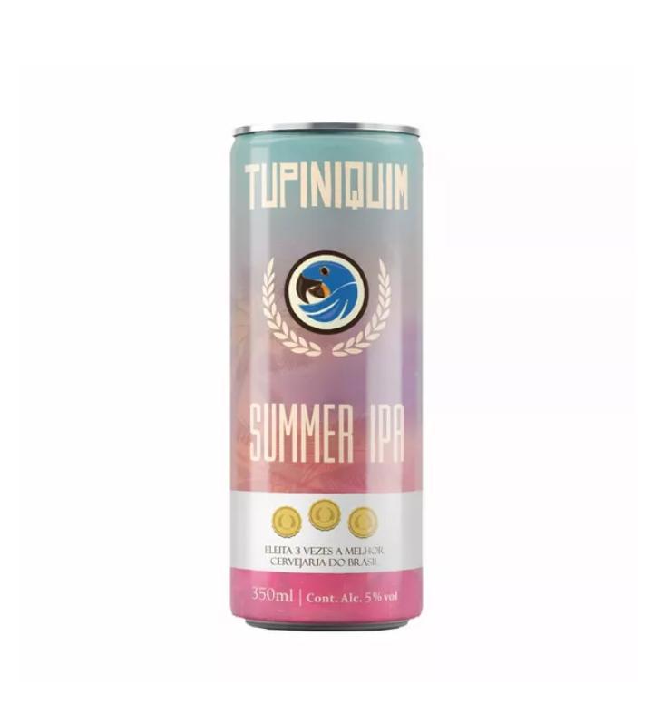 Tupiniquim Summer Ipa  Lata 350ml