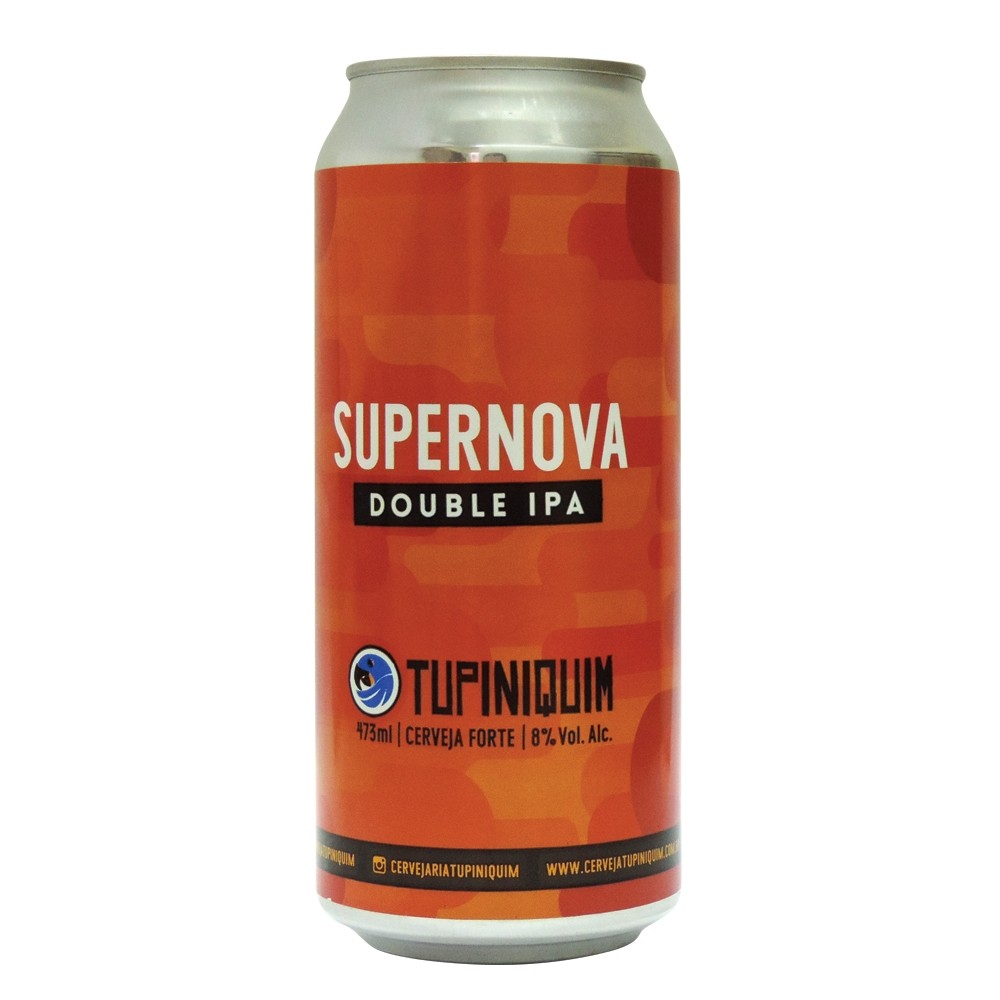 Tupiniquim Supernova Lata 473ml Double IPA