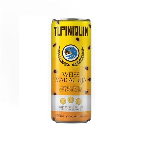 Tupiniquim Weiss Maracuja Lata 350ml