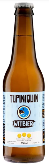 Tupiniquim Witbier 350ml
