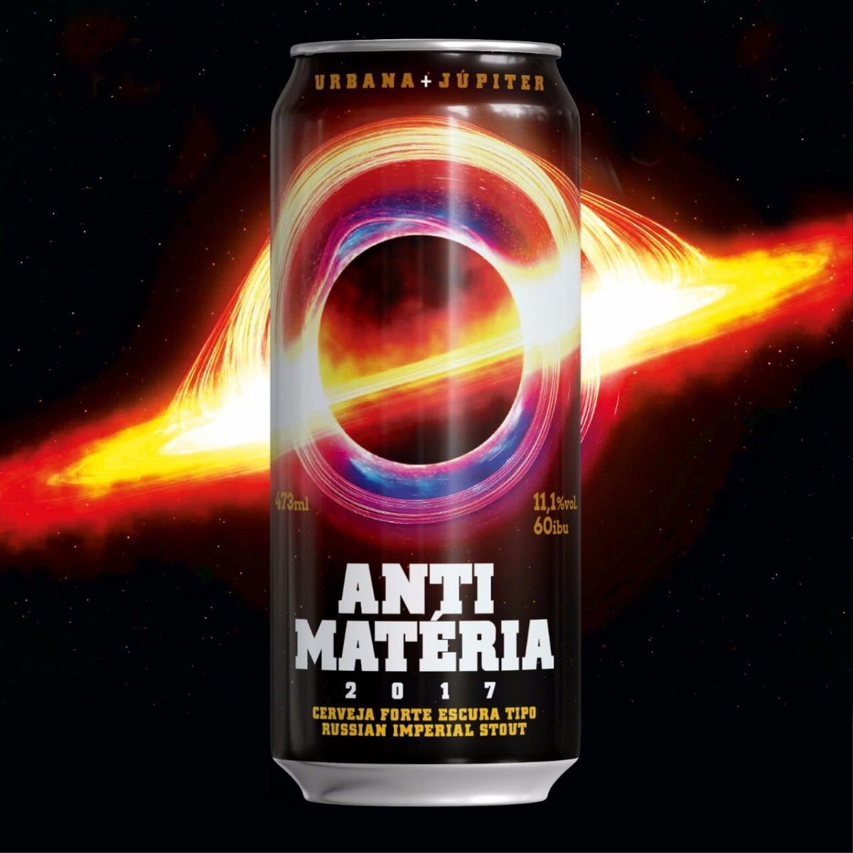 Urbana + Júpiter Anti Matéria Lata 473ml RIS