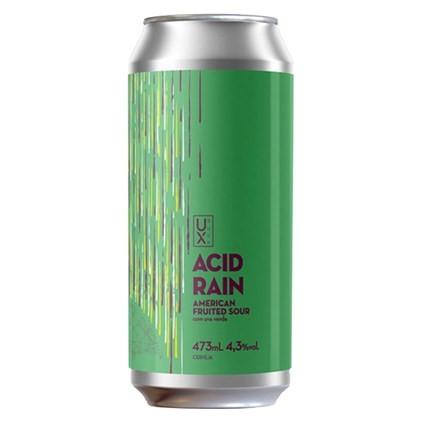 UX Acid Rain Lata 473ml American Fruited Sour com Uva Verde