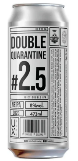 Ux Brew Double Quarantine Lata 473ml Juicy double IPA