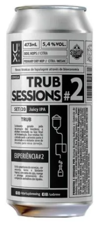 Ux Brew Trub Sessions #2 Lata 473ml Juicy IPA