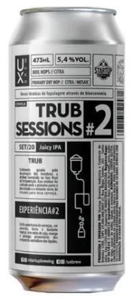Ux Brew Trub Sessions #2 Lata 473ml Juicy IPA