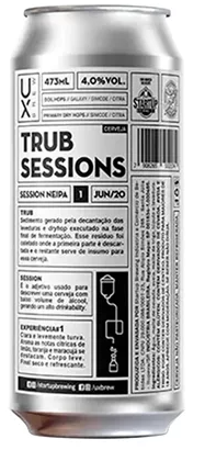 Ux Brew Trub Sessions 1 Lata 473ml Session Ne IPA