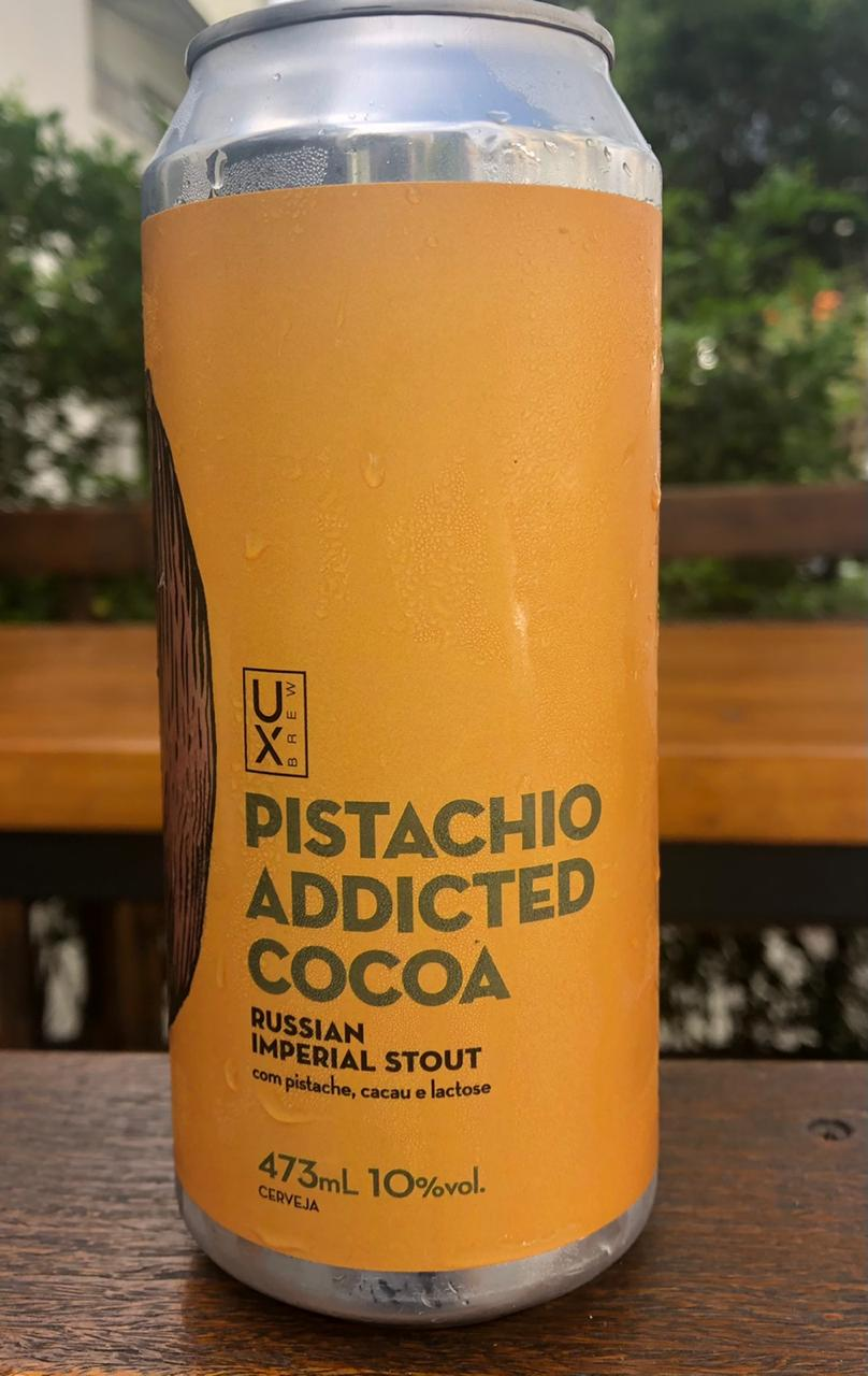 UX Brew Pistachio Addicted Cocoa Russian Imperial Stout Lata 473ml
