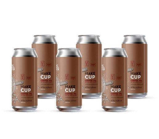UX Wake Cup Lata 473ml - Coffee Ipa com café catuaí vermelho