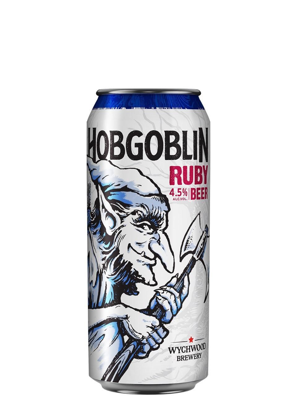 Wychwood Hobgoblin Ruby Beer Lata 500ml Bitter
