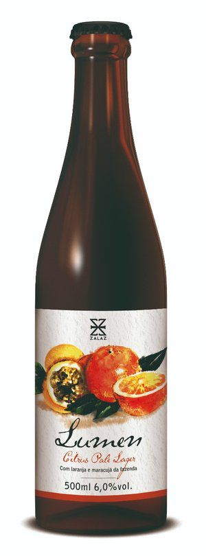 Zalaz Lumen Citrus Pale Lager 500ml