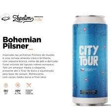 Zepelim City Tour - Lata 473ml - Bohemia Pilsner