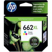 Cartucho HP 662XL 662 Color CZ106AB | Deskjet 3515 Deskjet 2516 Deskjet 2515 | Original HP 3515, HP 2516, HP 1516, HP Deskjet 3516, HP Deskjet 2546