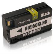 Cartucho HP 950XL 950 CN045A Preto | Officejet 8100 8600W Pro 251DW Compatível