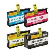 Cartucho HP 954 XL para HP 8710 | 8720 Compatível Kit 4 Cores
