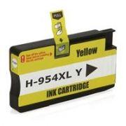 Cartucho HP 954XL HP Officejet Pro 7740 8710 8720 8740 8210 8716 8725 8715 8700 Amarelo Compatível 25ml