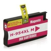 Cartucho HP 954XL HP Officejet Pro 8210 8716 8725 8700 8715 7740 8710 8720 8740 Magenta Compatível 25ml