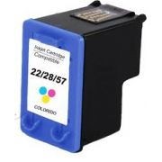 CARTUCHO HP 22XL Compatível Colorido C9352 | Deskjet HP 3910, 3915.