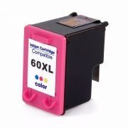 CARTUCHO HP 60XL COLOR COMPATIVEL HP 1660 / F2210 D2530 F4240 F4280 C4640/ D2545 / D2560 / C4650 / C4680 / C4740 C636w